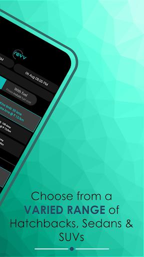 Revv App - Self Drive Car Rental Services in India  screenshots 3