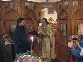 """Photo: с. Лешница, престолен празник на параклиса """"свв. Козма и Дамян Асийски"""", 14 ноември 2012 г."""