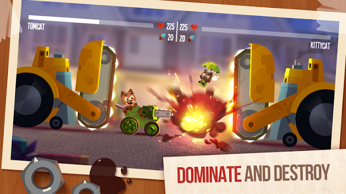 CATS: Crash Arena Turbo Stars- screenshot