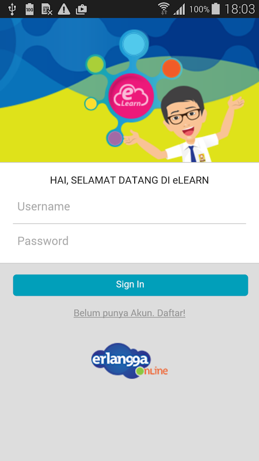 eLearn Siswa- screenshot