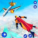 Light Speed Robot-Super Hero Games icon