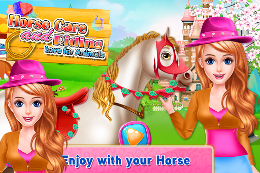 Code Triche Horse Care and Riding - Love for Animals APK MOD (Astuce) screenshots 1