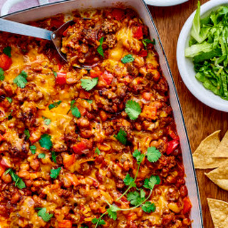 Ground Beef Taco Casserole Recipe