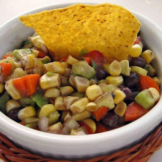 Vegetable Salsa With Black Beans & Avocado.
