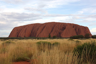 Photo: Year 2 Day 218 - Uluru as the Sun Goes Down