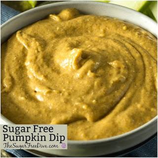 How to make Sugar Free Pumpkin Dip.