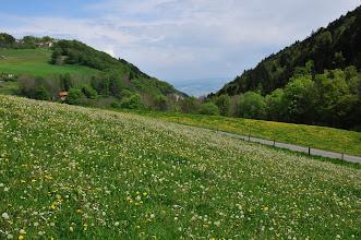 Photo: Au fond de la vallée : Yverdon-les-Bains