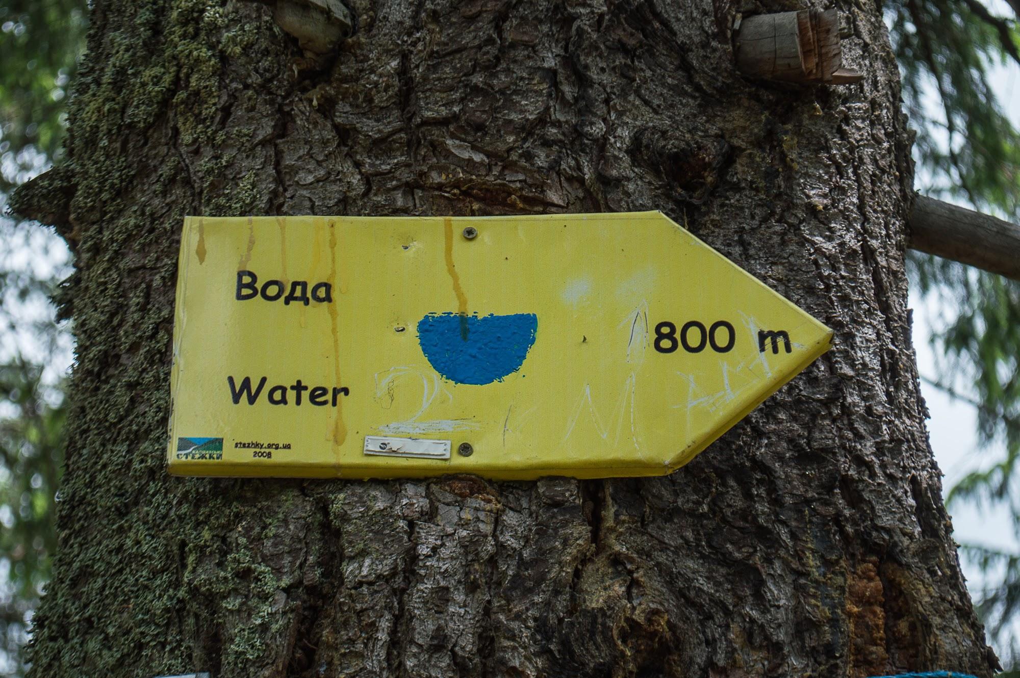 Вода на Грофецько-Попадійському кільці
