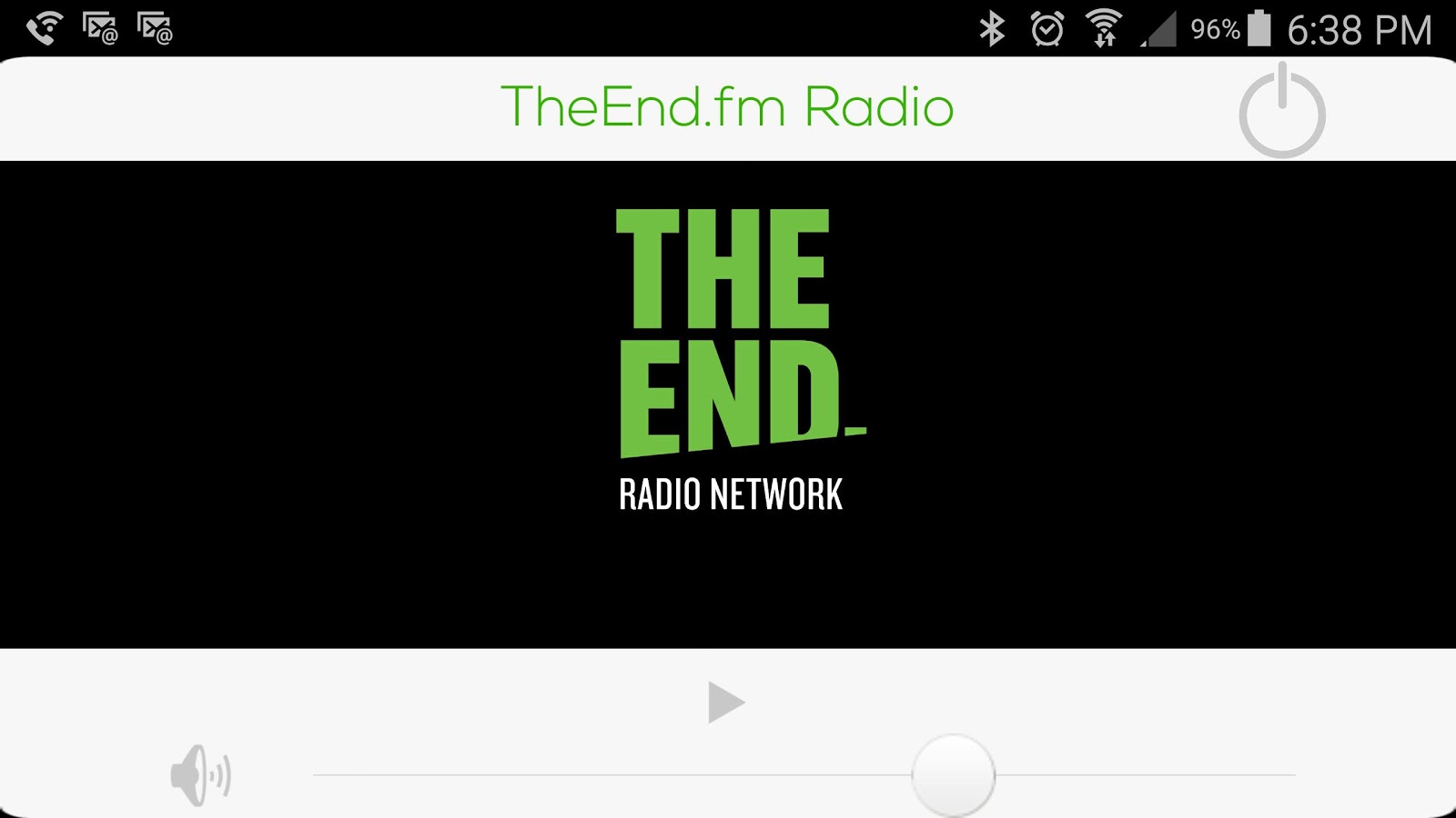 The End Radio Network- screenshot