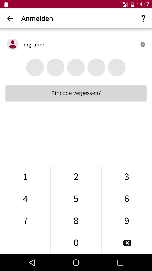 MoneYou Spar App- screenshot