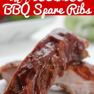 Applesauce BBQ Ribs