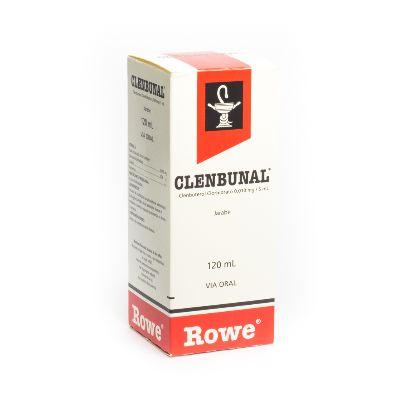 Clenbuterol Clenbunal 0,01 mg/5mL Jarabe Adulto x 120 mL
