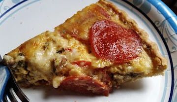 ~ Pizza Quiche Pie ~ Recipe