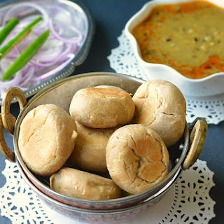 Make Bati without oven/Tandoor