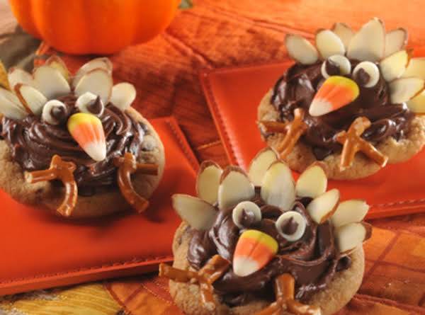 Cute Thanksgiving Turkey Cookies Recipe