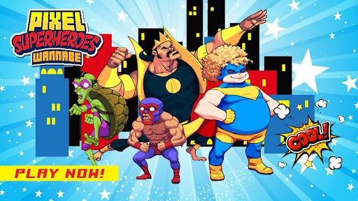 Pixel Super Heroes