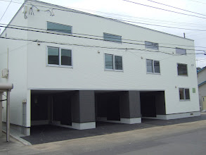 Photo: 入居者募集。左から2番目と、右端。 http://www.asahikawa-chintai.com/arti_list.php?clr=&area_cd=5&rent=5&room=20&arti_type=10