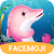 Funny Pink Dolphin Sticker file APK for Gaming PC/PS3/PS4 Smart TV