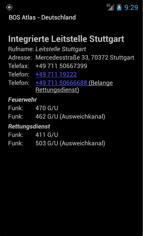 Скриншот BOS-Atlas (Testversion)