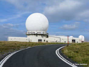 Photo: Great Dun Fell - NATS Comms/Radar Station