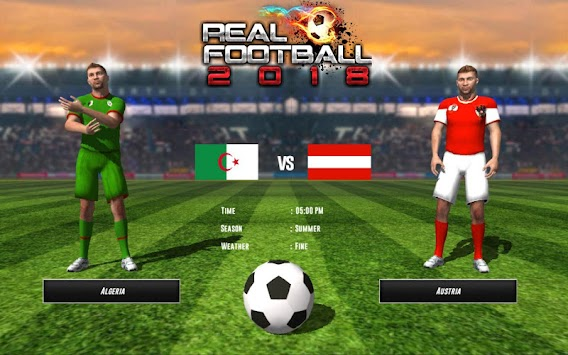 REAL FOOTBALL CHAMPIONS LEAGUE : WORLD CUP 2018 apk screenshot