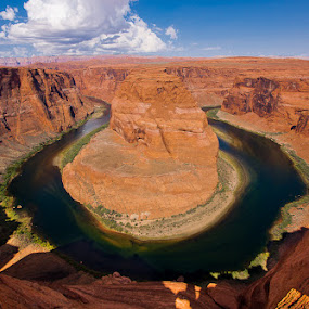 Horseshoe Bend by James Pion - Landscapes Caves & Formations