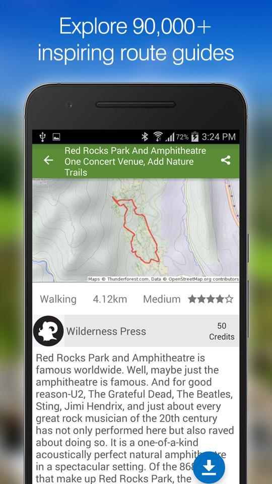 ViewRanger GPS - Trails & Maps screenshot #4