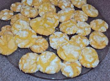 Easiest Lemon Cookies