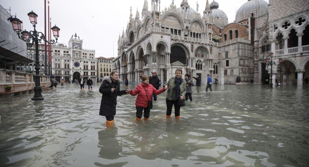 Venecia queda sin agua: ¿Luego de inundaciones viene esto?
