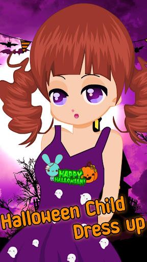 ハロウィーンの子のドレスゲーム