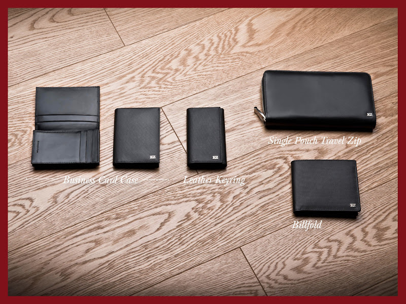 Photo: Ermenegildo Zegna - Holiday Season Selection – Shop small leather goods in black printed calf leather for a perfect present at http://bit.ly/X47GwN