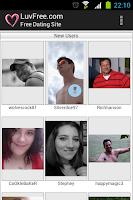 Screenshot of LuvFree Dating