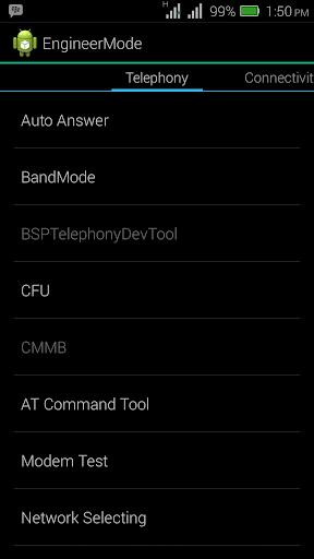 MTK Engineering Mode - Advanced Settings & Tooling 2.4 screenshots 5