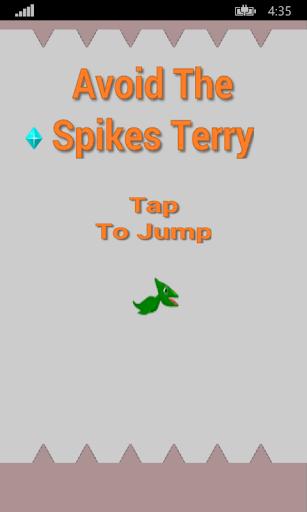 Avoid The Spikes Terry