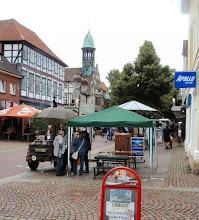 Photo: in Nienburg ist Markt...