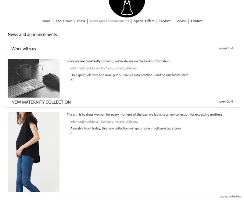 Скриншот MyBloo Fashion Shop