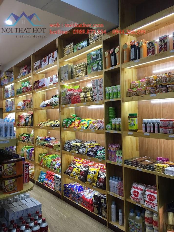 thi công cửa hàng bánh kẹo nhập khẩu 13