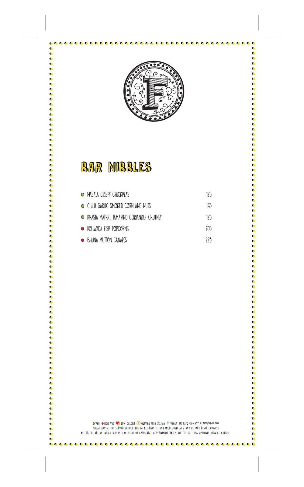 Farzi Cafe menu 2