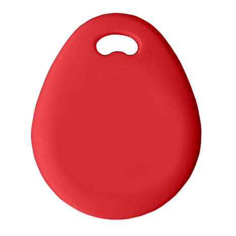 Nyckelbricka Basic EM4200, röd
