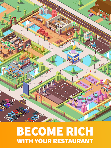 Idle Food Empire Tycoon - Open Your Restaurant - screenshot