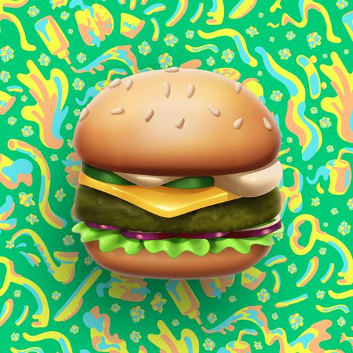 MAX Green Burger Emojis