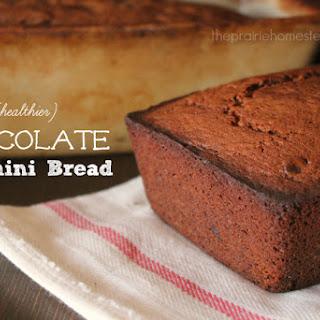 {Healthier} Chocolate Zucchini Bread Recipe