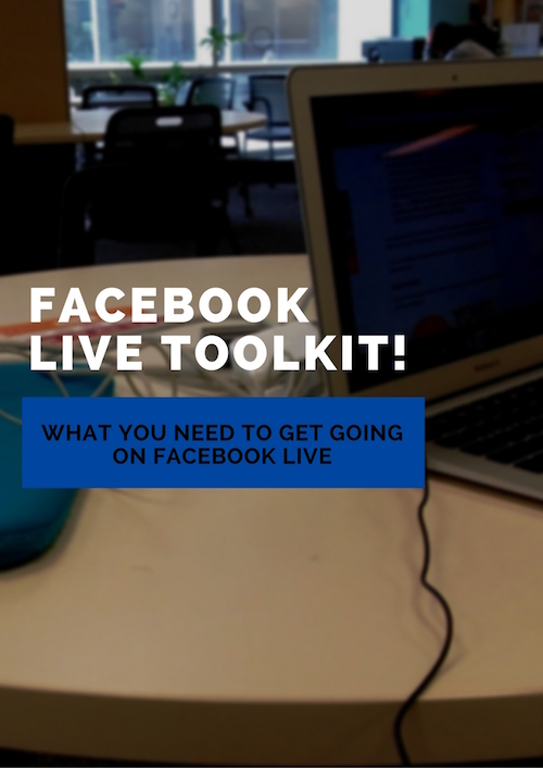 Image of Facebook Live toolkit