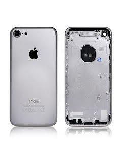 iPhone 7G Housing without small parts HQ Silver