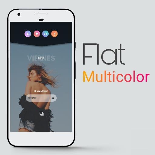 Flat Multicolor