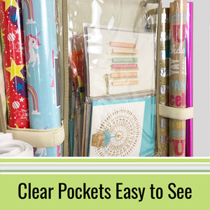 Clear Pockets Easy to See