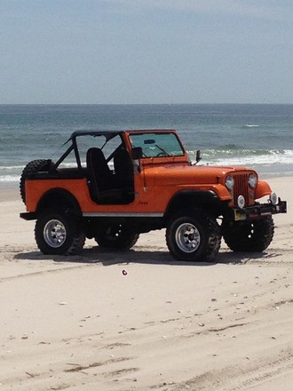 1981 Jeep CJ7 Hire NJ