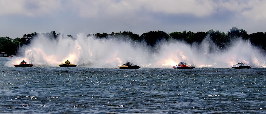 hydro boat  by Paul Drajem - Sports & Fitness Other Sports ( hydro, race, boats, water,  )