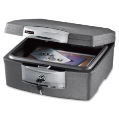 Sentry Safe F2300: Waterproof Insulated Fire Chest,.36 Ft3, 15-1/4 x 14-7/8 x 7-1/2, Charcoal Gray