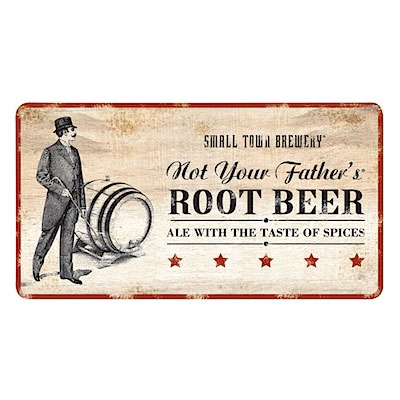 Logo of Small Town Not Your Father's Root Beer
